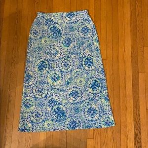 Easywear by chicos size 2 maxi skirt